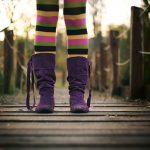 person-girl-shoes-colorful